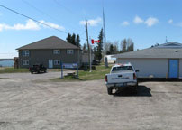 The Community Of Norway House Manitoba Canada
